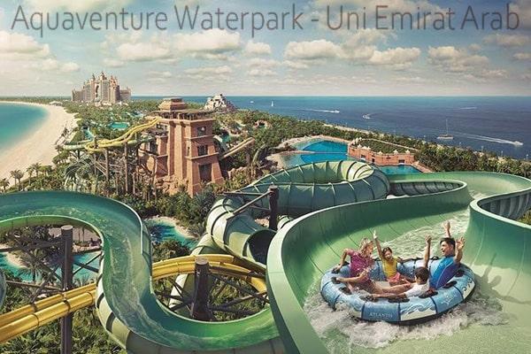 Aquaventure Waterpark Di Uni Emirat Arab